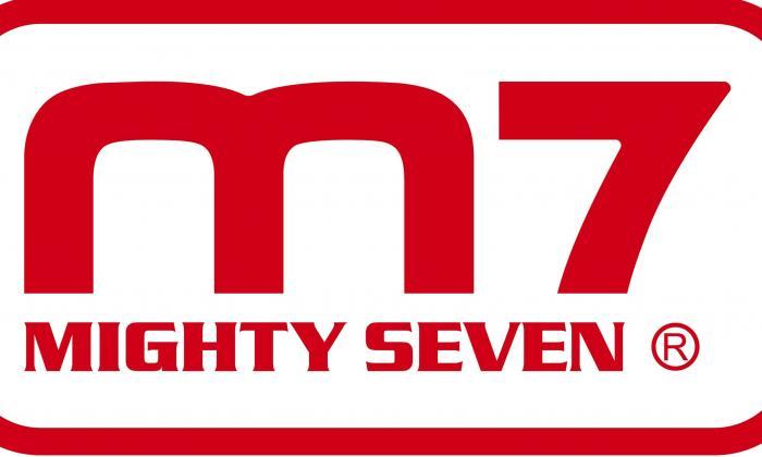 Distributeur de la marque M7 - MIGHTY SEVEN