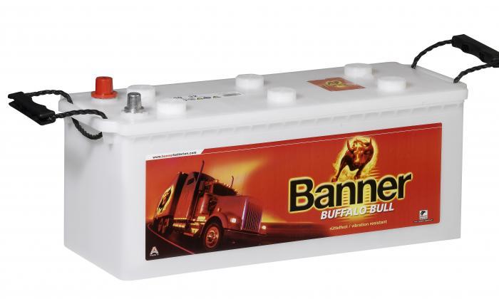 Batterie poids lourds - Engins de travaux publics et autobus BANNER