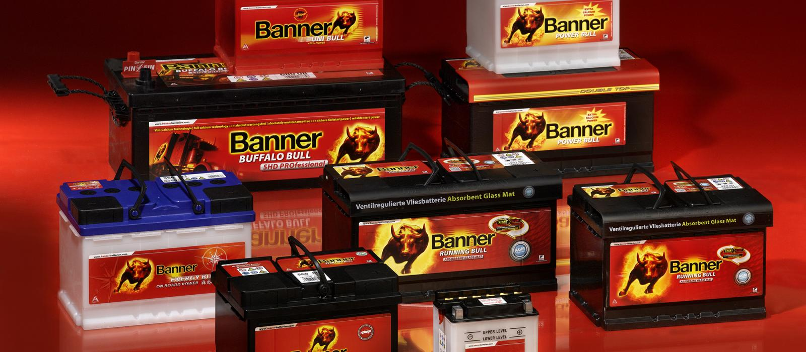 Une large gamme de batteries